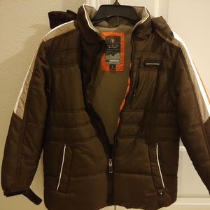 Protection Systems hooded Jacket Kids Boy Sz 12